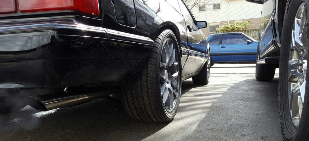 wheel selection for 5 lug swap fox Mustang