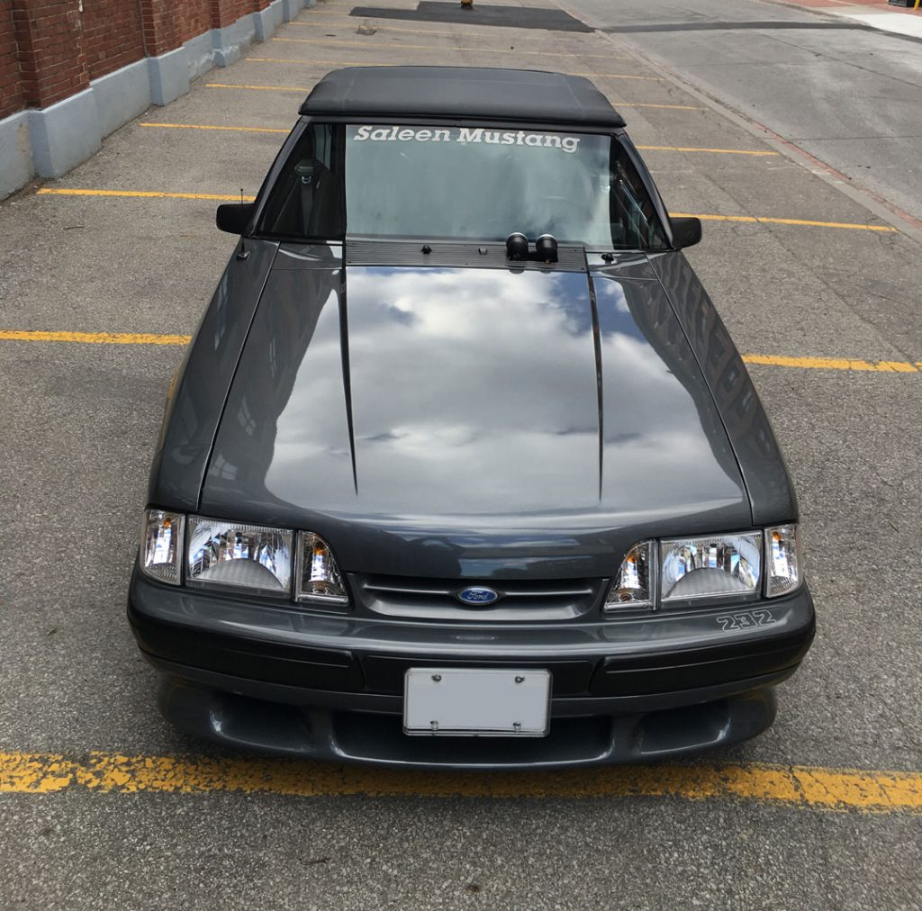87 Mustang Saleen