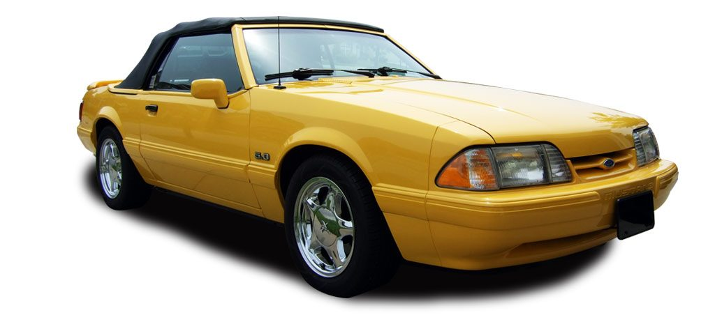 Yellow Fox Mustang Feature Car