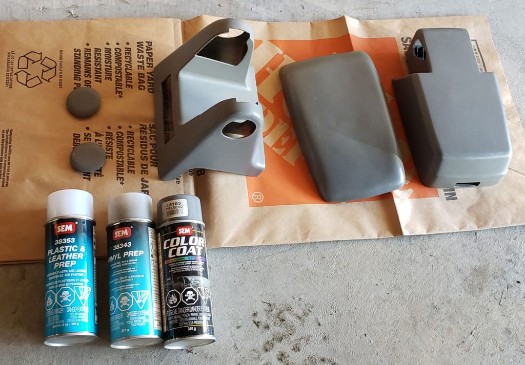 Prep for interior paint - foxbody Mustang