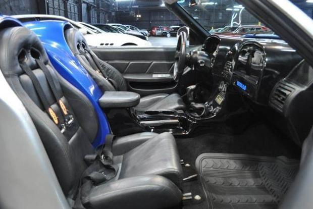 Fox Mustang modified interior - Custom