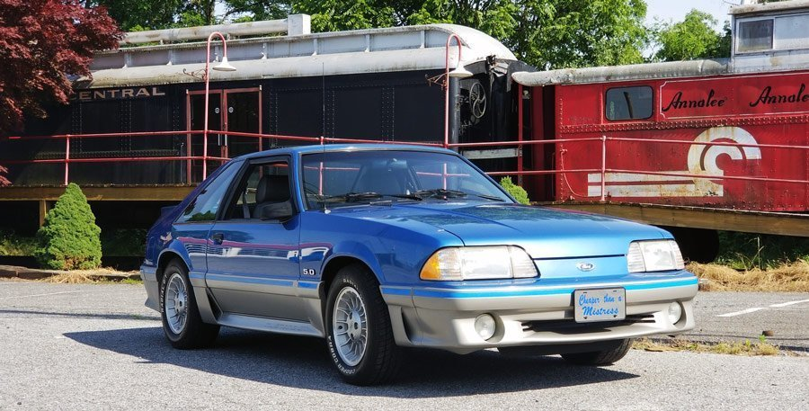 Fox Mustang Tu Tone