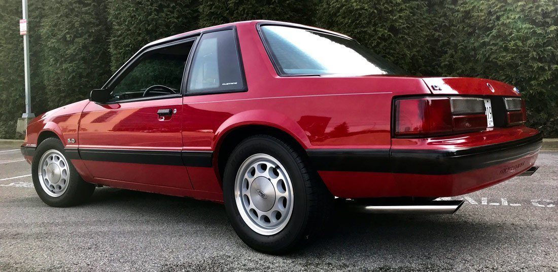 1988 notch fox body mustang