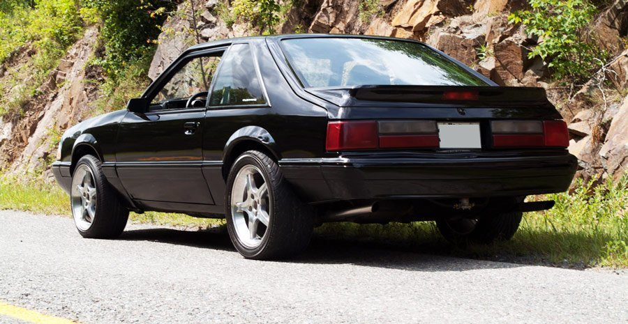 rear - 89 lx fox body