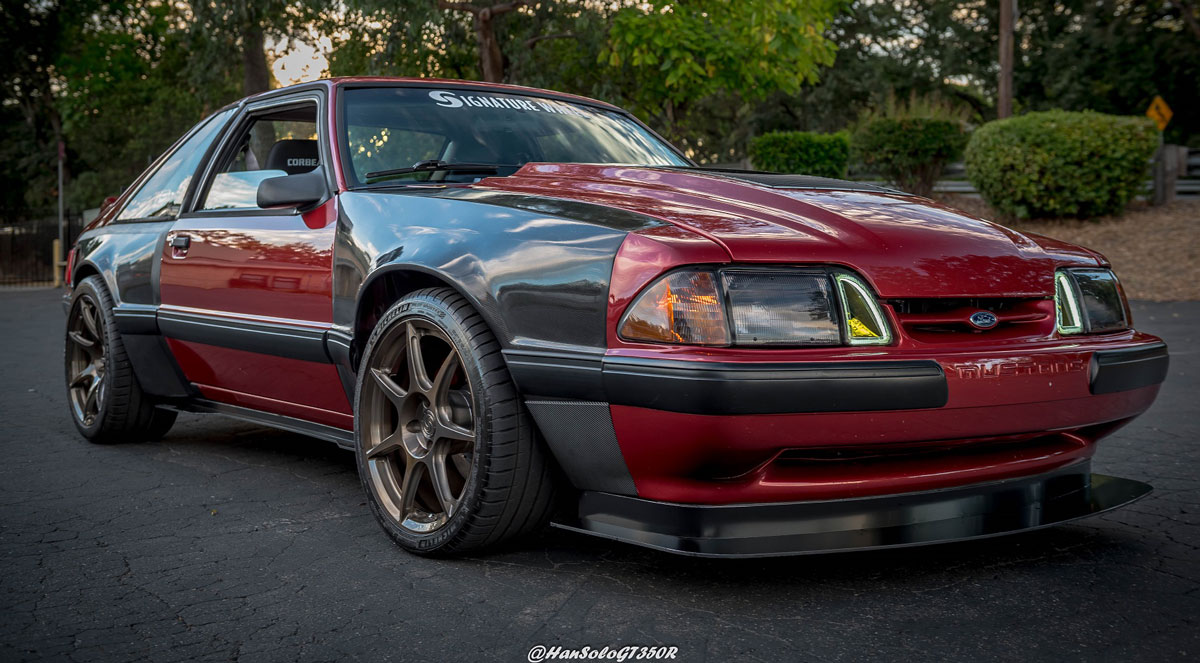 wide body fox mustang