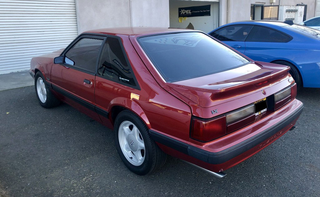 91 Lx hatch Fox Mustang